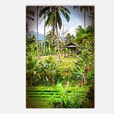 Balinese Farm Postcards (Package of 8)