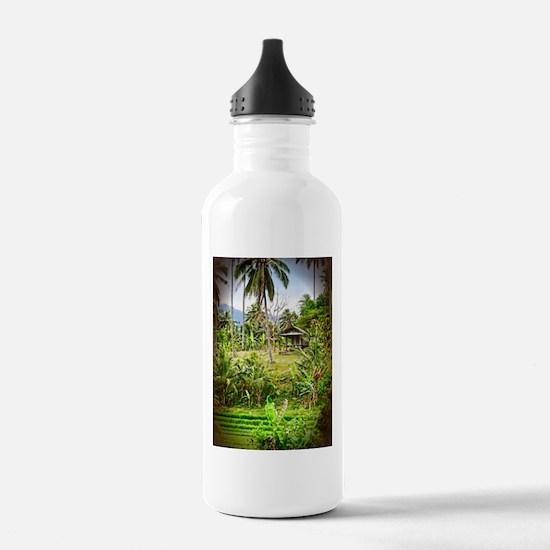 Balinese Farm Water Bottle