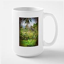 Balinese Farm Large Mug