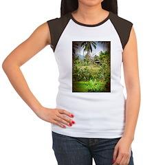 Balinese Farm Women's Cap Sleeve T-Shirt