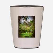 Balinese Farm Shot Glass