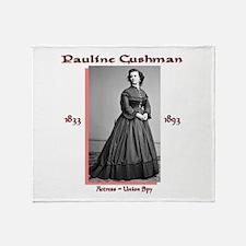 Pauline Cushman Throw Blanket