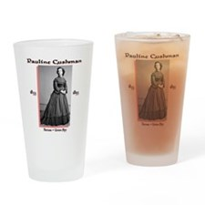 Pauline Cushman Drinking Glass