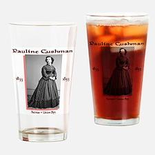 Pauline Cushman Drinking Glass