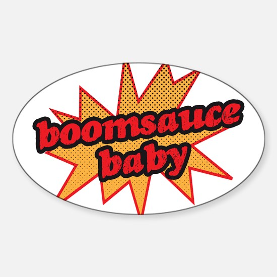 Boomsauce Baby Sticker (Oval)