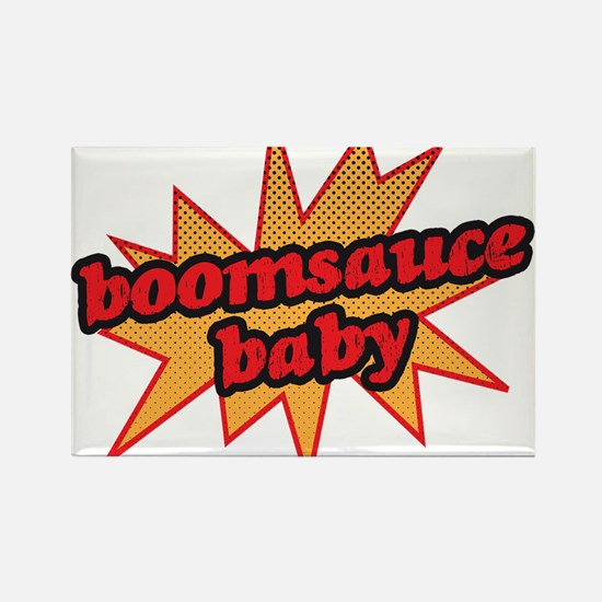 Boomsauce Baby Rectangle Magnet