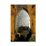 ighted Arch Christ Church Mini Poster Print