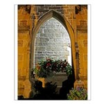 ighted Arch Christ Church Small Poster