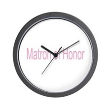 Matron of Honor Gifts Wall Clock