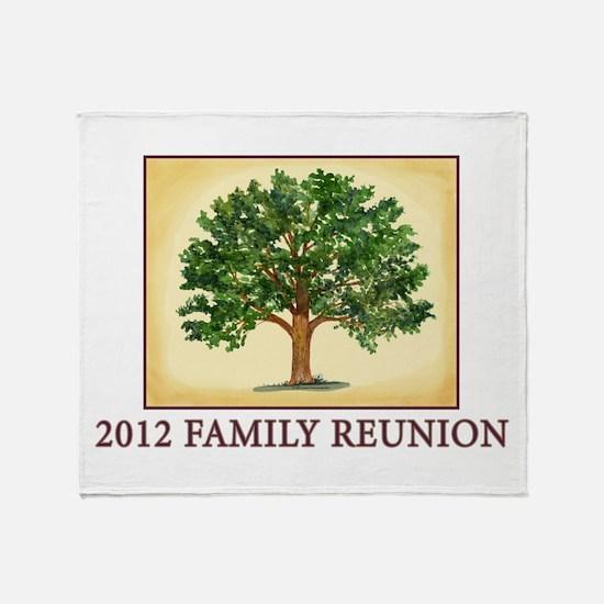 Family Reunion Throw Blanket