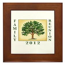 Family Reunion Framed Tile