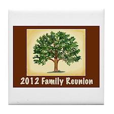 Family Reunion Tile Coaster