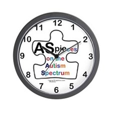 AS PIEces Wall Clock