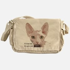 Cute Sphynx Messenger Bag