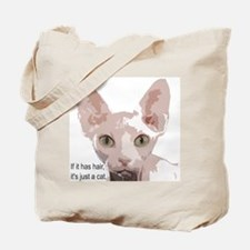 Cute Sphynx cat Tote Bag