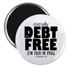 Eternally Debt Free: Paid in Full Magnet