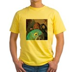 Palm Cockatoos and Hyacinth M Yellow T-Shirt