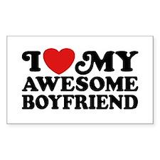 I Love My Awesome Boyfriend Decal