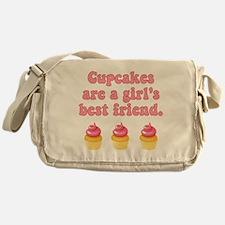 Best Friend Cupcakes Messenger Bag