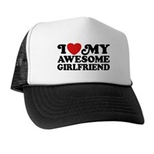 I Love My Awesome Girlfriend Hat