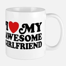 I Love My Awesome Girlfriend Mug