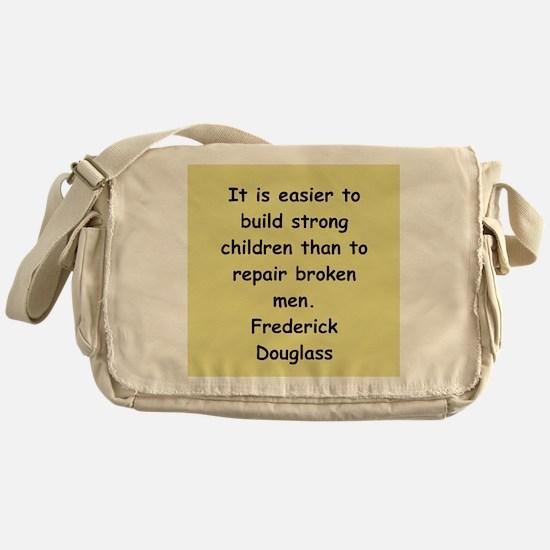 frederick douglass gifts and Messenger Bag