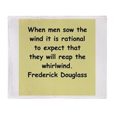 frederick douglass gifts and Throw Blanket