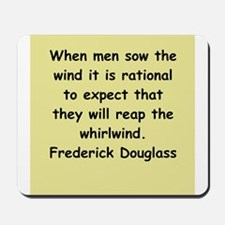 frederick douglass gifts and Mousepad