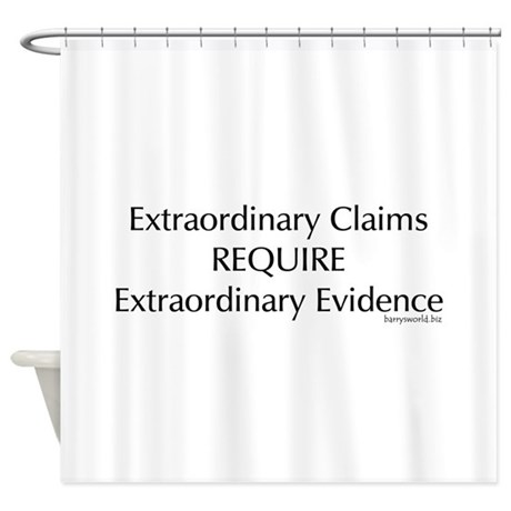 Skeptics1 Shower Curtain
