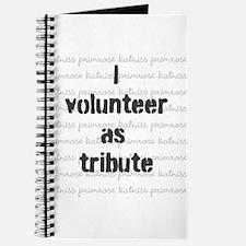 I volunteer as tribute - Katniss/Prim Journal