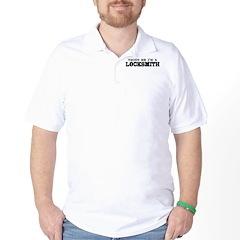 Trust Me I'm A Locksmith Golf Shirt