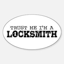 Trust Me I'm A Locksmith Decal