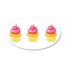 Best Friend Cupcakes Wall Decal