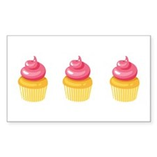Best Friend Cupcakes Decal