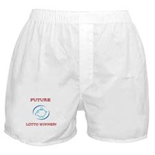 Future Lotto Winner Boxer Shorts