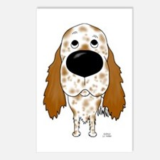 Big Nose English Setter Postcards (Package of 8)
