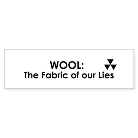 WOOL: The Fabric of our Lies