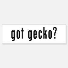 GOT GECKO Bumper Bumper Sticker