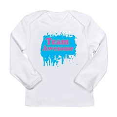 Team Awesome 2 Long Sleeve Infant T-Shirt