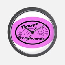 Even More Greyhounds! Wall Clock