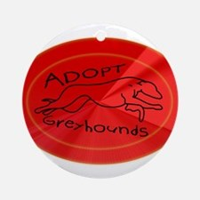 Even More Greyhounds! Ornament (Round)