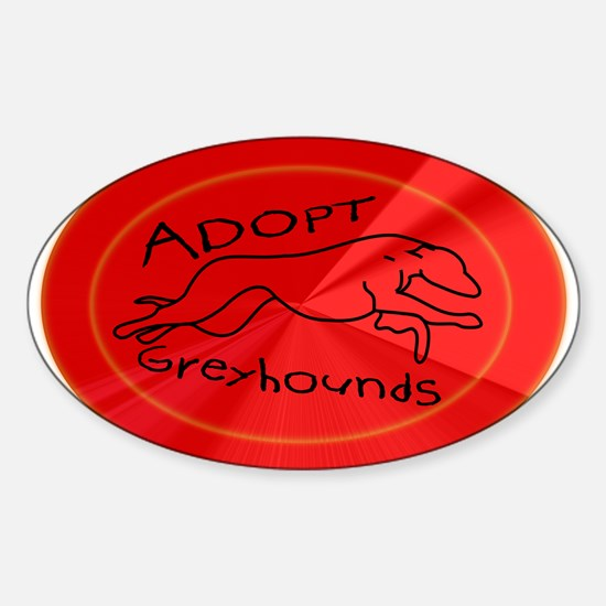 Even More Greyhounds! Sticker (Oval)