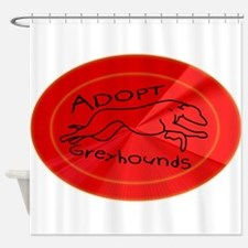 Even More Greyhounds! Shower Curtain