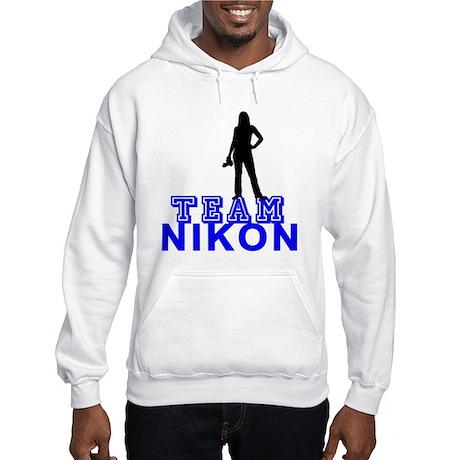 Team Nikon Hooded Sweatshirt