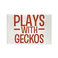 PLAYS Geckos Rectangle Magnet