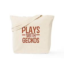 PLAYS Geckos Tote Bag