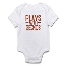 PLAYS Geckos Infant Bodysuit