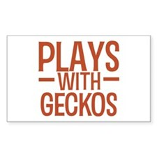 PLAYS Geckos Decal