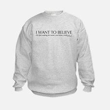 Skeptics3 Sweatshirt