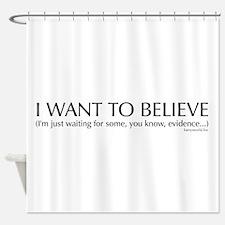 Skeptics3 Shower Curtain